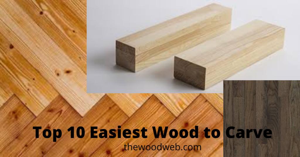 easiest wood to carve
