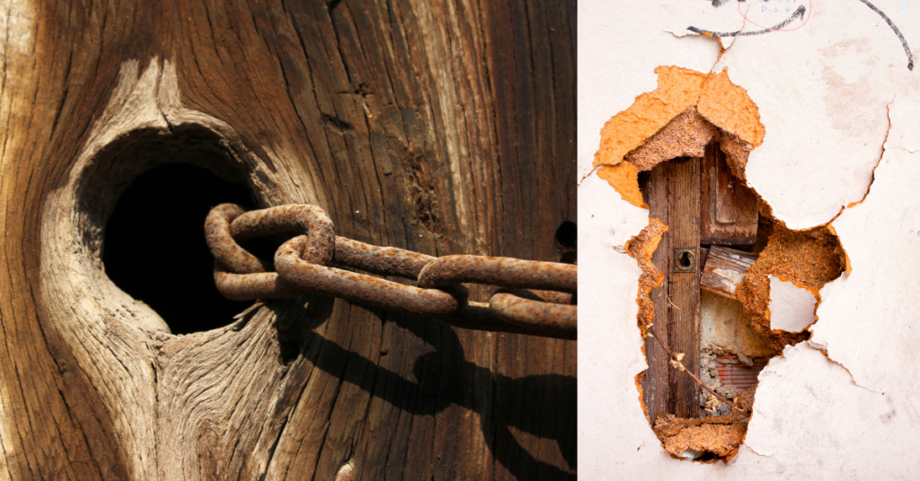 How to Repair Split Wood Door